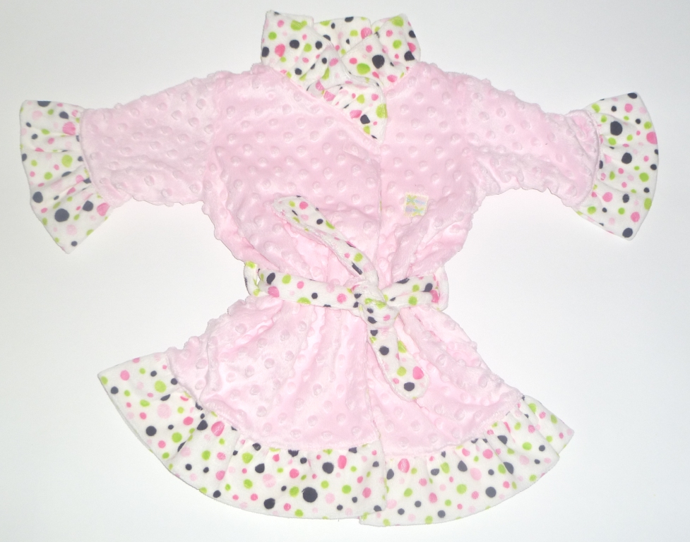 Dimple Dot Polka Dot Robes